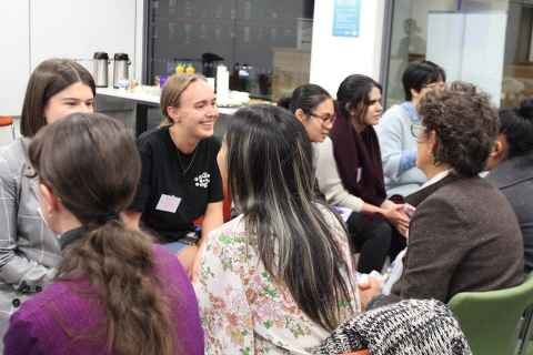 Women in Science Face 2 Face mixer
