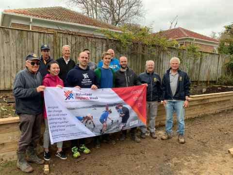Assisting Epsom Lodge with their community garden