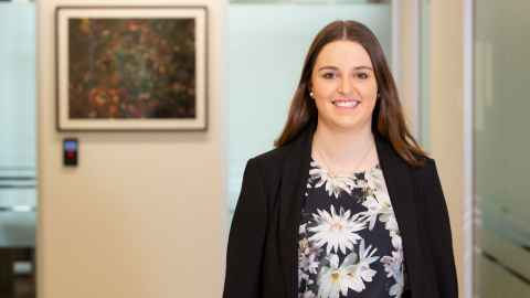 Katie Davis, Economics Intern at the New Zealand Superannuation Fund