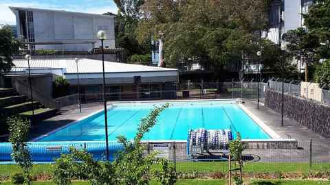 Epsom Campus swimming pool