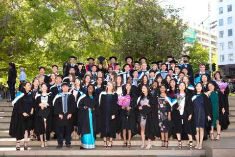 Optometry and vision sciences graduates spring 2018