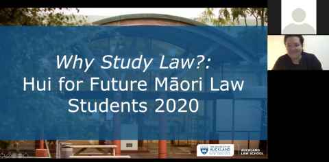 A Hui for future Māori students
