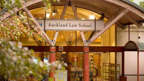 Welcome To The Auckland Law School The University Of Auckland