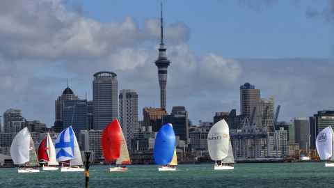 "Behind our aspirational City of Sails lies ""the bare-floored, bare-walled reality of grinding urban poverty,"" says Dr Ian Hyslop."