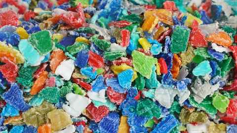 Microplastics are tiny pieces of plastic fragments less than five millimetres in length. They include plastic film, beads and thread from cosmetics, textiles, industrial processes and the degradation of larger plastic products.