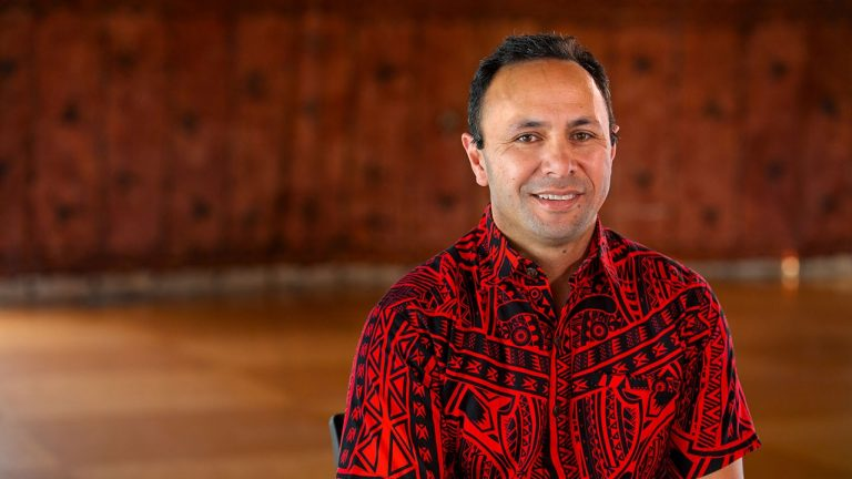 Associate Professor Damon Salesa: the first university Pro-Vice Chancellor (Pacific)