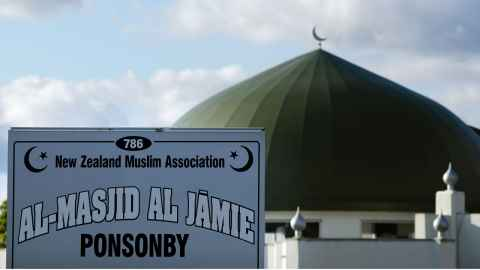 Contrary to the manifesto of hate published by the Christchurch gunman, mosques throughout New Zealand, like Al-Masjid Al-Jamie in Ponsonby (pictured, above), have become the focus of unity, love and solidarity.
