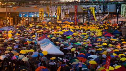 Hong Kong has seen street demonstrations before: In 2014 the Umbrella Movement, or Occupy Central, shut city streets for 77 days in protest against changes to universal suffrage..