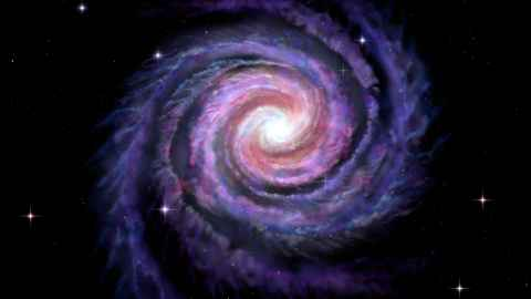 Space facts image of a Galaxy