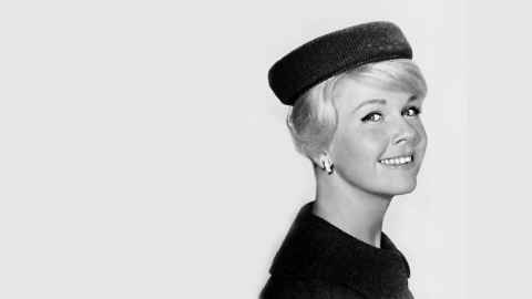 Doris Day is pictured in a studio publicity portrait for the 1960 film Midnight Lace. Photo:  Creative Commons CC0 1.0 Universal Public Domain Dedication