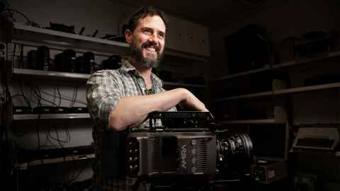 Associate Professor Jake Mahaffy is a filmmaker who lectures in Media and Screen Production at the University.