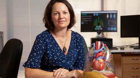 Kelly's focus since 2001 is bioengineering research centred on creating patient-based computational models of the respiratory system.