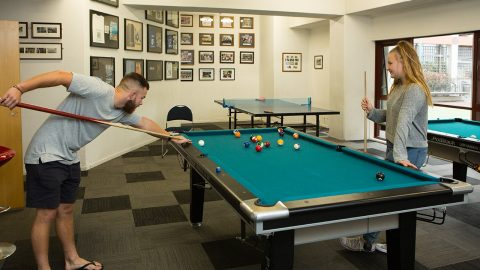 O'Rorke Hall games room