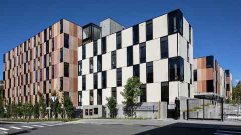 Carlaw Park Student Village exterior