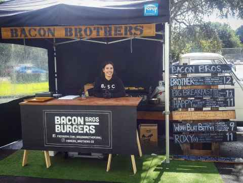 Bacon Bros food truck