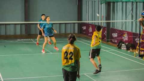 Interfaculty Badminton - The University of Auckland