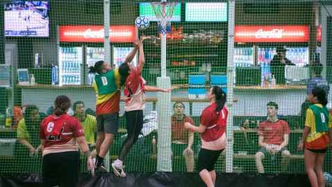 interfaculty indoor netball champions