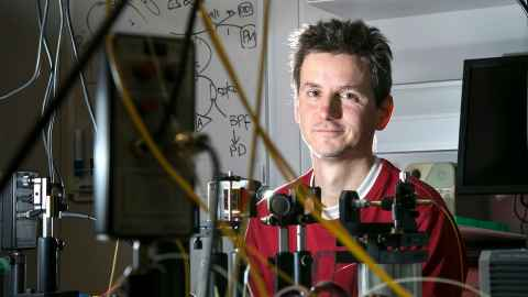 Associate Professor Stéphane Coen, Department of Physics