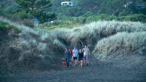 Muriwai beach field trip