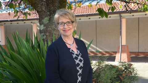 Professor Suzanne Purdy, Head of School