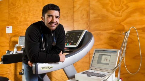 Portrait of Clinical Exercise Physiologist Josh Foreman