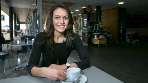 Portrait of clinical psychologist Danielle Hay