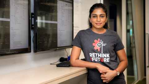 Nishita Balamuralikrishna MProfStuds in Data Science graduate