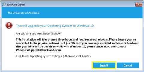 Windows 7 to Windows 10 upgrade - The University of Auckland