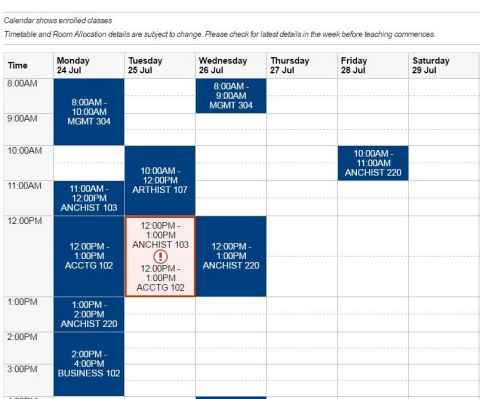 How to enrol in a course - The University of Auckland