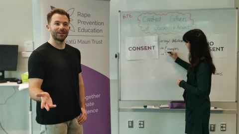 image of consent training session