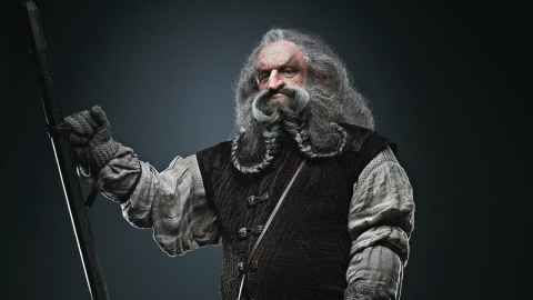 John Callen as Oin in The Hobbit (Warner Bros)