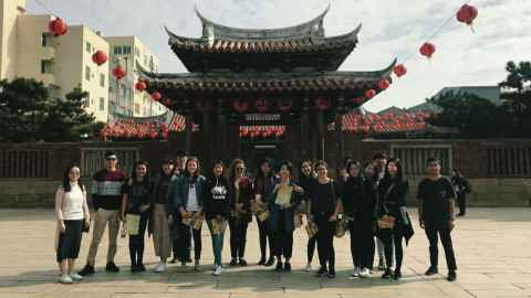 Cultural trip to Lukang with ITI students and CAPE interns