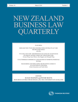 business law quarterly nzblq is new zealand s leading business law